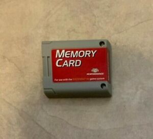Performance 256K Large Size N64 Nintendo 64 Memory Card Pak Pack