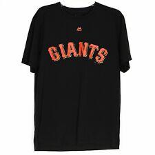NWOT Majestic Cool Base Evolution T Shirt Size M Black San Francisco Giants NEW