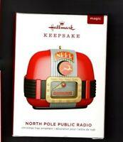 North Pole Public Radio 2019 Hallmark Keepsake Magic Ornament