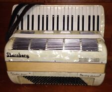 Settimio Soprani Sternberg Budapest VII Pearlized Accordion & Lifton Case - USED