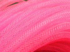 4mm SKINNY TUBULAR CRIN NEON FUCHSIA PINK CYBERLOX DREADS 5 METRES GIFT WRAPPING