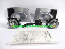 2011-2014 Subaru Impreza WRX Fog Light Lamps Bezels Ice Silver Metallic OEM NEW
