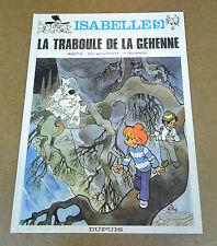 WILL - ISABELLE - 9 - LA TRABOULE DE LA GÉHENNE - EO 1992 ( TBE )