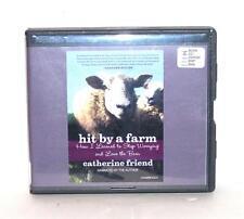 BOOK/AUDIOBOOK CD Catherine Friend Memoir Farming Sheep HIT BY A FARM