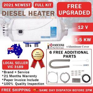 Diesel Heater 12V 5KW Split Kyocera Glow Plug Aluminium Cover RV AU FOCUS
