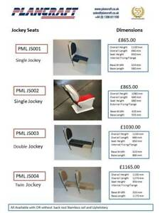 Quality GRP Jockey Console Seat RIB Boat Centre Console Made To Order