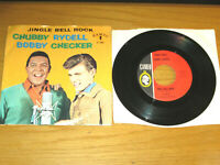 """CHRISTMAS 45 RPM/PICTURE SLEEVE BOBBY RYDELL-CHUBBY CHECKER  """"JINGLE BELL ROCK"""""""
