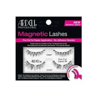 ARDELL Magnetic False Eyelashes PRE CUT DEMI W with Applicator Reusable lashes