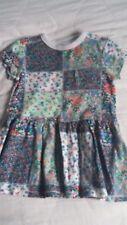 Baby Girl 9-12 Months NEXT Multicolour Floral Cotton Short Sleeve Summer Dress