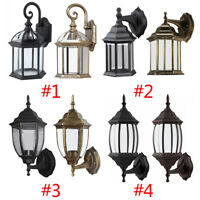 Outdoor Wall Porch Patio Light Exterior Lighting Lamp Lantern Fixture Waterproof