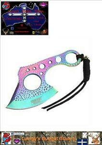 """Defender-Xtreme 7"""" Titanium Coated Stainless Steel Throwing/Hunting Axe"""