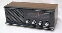 VTG Panasonic RE-6513 AM/FM Radio   1972 Retro Table Top Radio, Working