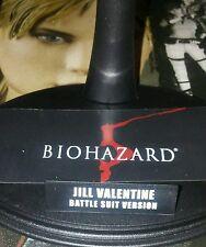 1/6 Hot Toys Biohazard 5 Jill Valentine VGM13 Figure Stand Nameplate