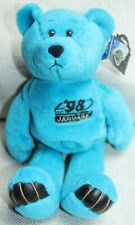 JACKSONVILLE JAGUARS M BURNELL 8, LIMITED TREASURES BLUE BEAR, NWT, MINT