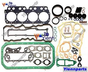N04C N04CT full overhual head Gasket Kit For Hino  truck engine upper lower set