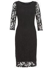 Lace Floral Little Black Dresses for Women