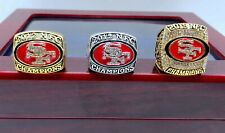 3 Pcs 2012 2012 2019  San Francisco 49ers Championship Ring Gift !!