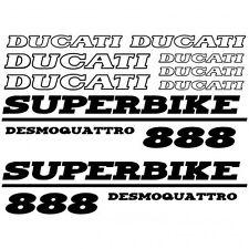 ADHESIVO PEGATINA - AUFKLEBER ADESIVI -  Ducati 888 desmo Réf-MOTO-031