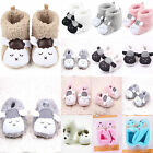 Unisex Baby Soft Booties Snow Boots Novelty Prewalker Anti-slip Crib Shoes Socks