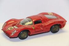 Mercury 65 Ferrari 330 P4 Le Mans #19, Red Good NB  Italy 1/43  Diecast