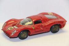 Mercury 65 Ferrari 330 P4 Le Mans #19, Red Good NB  Italy 1/43  Diecast