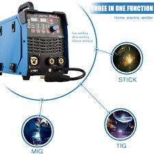 Welder Mig Tig Stick Arc 3 In 1 Welder Igbt Dc Inverter With Led Digital Display