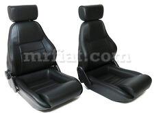 Triumph Spitfire Leatherette Seat Set New