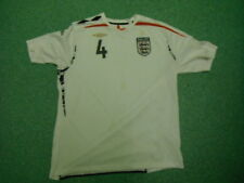 Inglaterra Xxl Hombres Casa Gerrard 4 Camiseta de fútbol