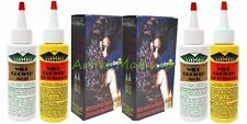 2 X TWIN PACK OF WILD GROWTH OLIVE  JOJOBA & COCONUT HAIR OIL & MOISTURIZER SET