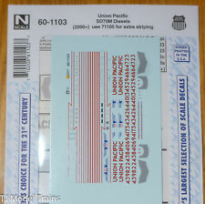 Microscale Decal N #60-1103 UP SD70M Diesels (2000+) Union Pacific Winged Sheild