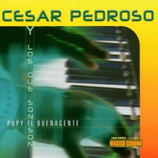 CD album Cesar Pedroso Pupy el buenagente (discoteca AZUCAR) timba Music Cuba