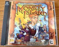 Lucas Arts Escape from Monkey Island PC CDROM Vintage Retro Game
