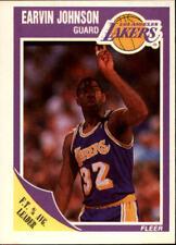 "Earvin ""Magic"" Johnson #77 Fleer 1989/90 NBA Basketball Card"