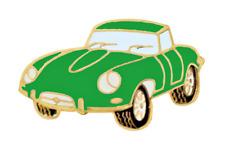 Jaguar E Type Green Pin Badge