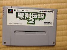 Seiken Densetsu 2 Super Famicom Japan Secret of Mana Squaresoft Nintendo NTSC-J
