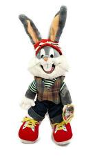 Warner Bros. Bugs Bunny 1993 VTG Plush Looney Tunes - Vest Sneakers Beanie Cap
