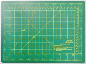 Cutting Mat Double Sided Self-Healing Board Matt Craft Hobby Art Supplies 9x12