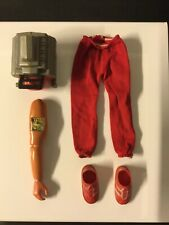 Kenner - 6 Million Dollar Man (1975) V8 Engine, Sneakers, Arm And Pants (Spares)