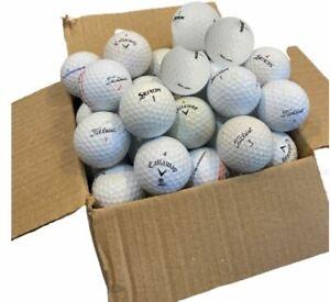 40 Titleist Callaway Srixon TaylorMade Golf Balls Grade A Premium Mix ⭐⭐⭐⭐⭐