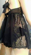 NWOT-Victoria's Secret 2-piece set 34D babydoll and Medium panties