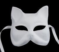 Máscara De Venecia Para Pintar Gato Gato Papel Mache Carnaval Veneciano 1718