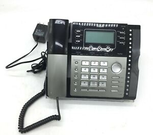 RCA 25425RE1 4 line telephone business phone used