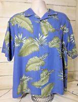 Joe Marlin Original Outfitters Men's XL Shirt Hawaiian Button Down Short Sleeve