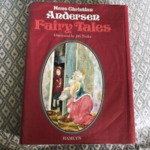 1975 Hans Andersen Fairy Tales Illust Jiri Trnka (Hamlyn Pub)