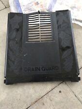 3 x NEW BLACK DECORATIVE DRAIN GUARD PROTECTIVE DRAIN COVER - 330mm x 300mm