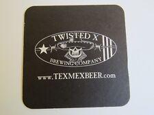 Beer STICKER ~ TWISTED X Brewing Co ~ Cedar Park, TEXAS ~ Brewing Since 2011
