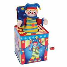 Schylling-Jack-In-The-Box-Circus-CLOWN-JESTER-Musical-Children-Toy