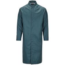 New RAINS Mackintosh Waterproof Coat in Dark Teal Size S/M