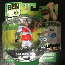 Ben 10 Omniverse Grandpa Max in Armor Action Figure NEW!