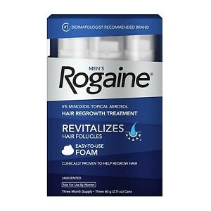Rogaine Foam Men 3 Month Supply Expiry: AUG/2022 onwards